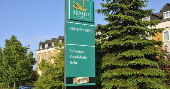2 Übernachtungen im komfortablen Doppelzimmer für 2 Personen im Quality Hotel Dresden West