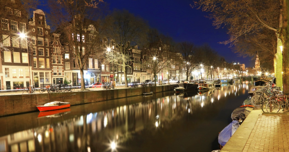 1 Tagesausflug nach Amsterdam für 1 Person, An und Abreise mit einem Reisebus