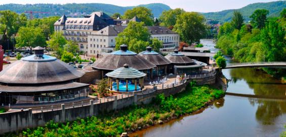 Rheinland-Pfalz: 2 Nächte für Zwei mit Eintritt in die Crucenia-Thermen im 4* PK Parkhotel Kurhaus in Bad Kreuznach