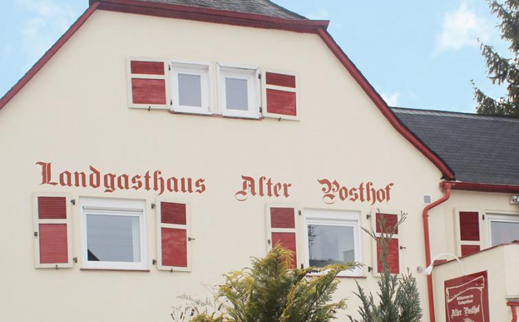 Rheinland-Pfalz: 2 ÜN/F im DZ für 2 Personen inkl.+ 1x Abendessen im Hotel Alter Posthof für 109,00€